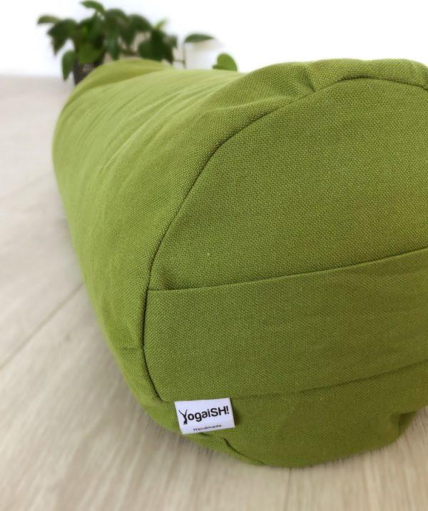 yoga bolster hulk green