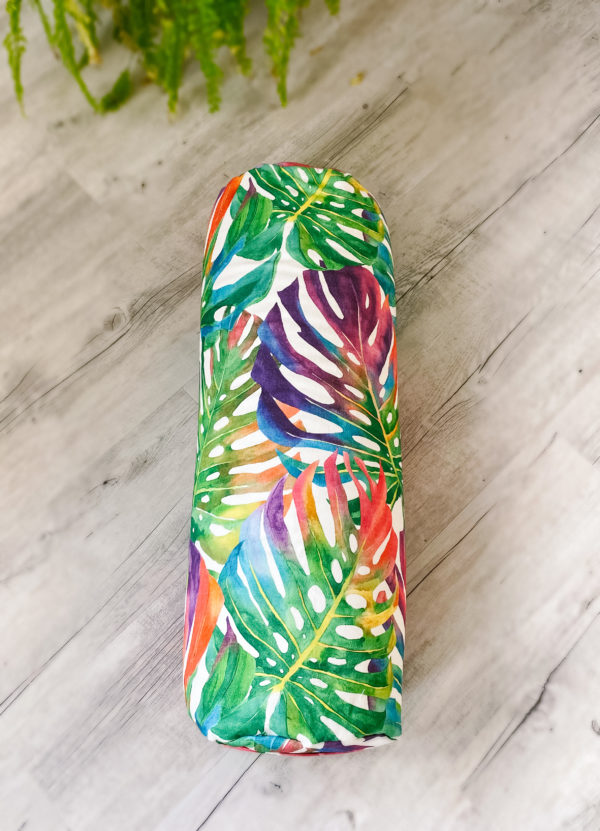 yoga bolster tropical