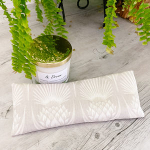 thistle eye pillow