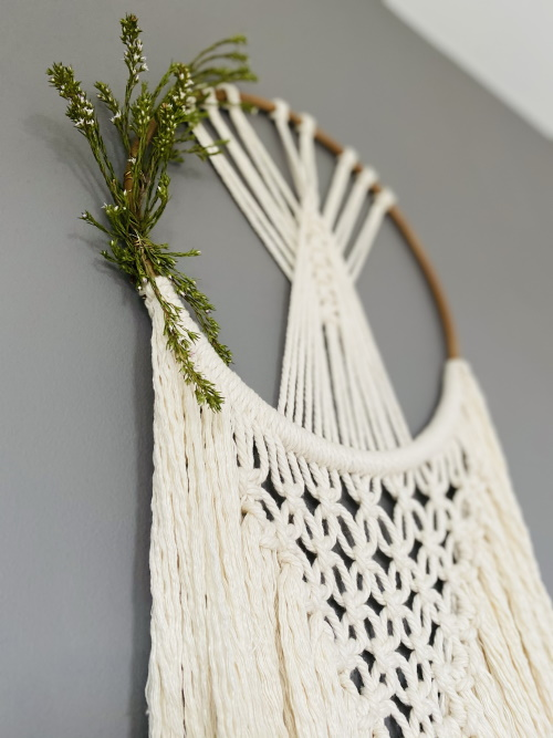large macrame side